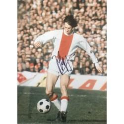 Johan Cruyff signed 16x12 Ajax photo