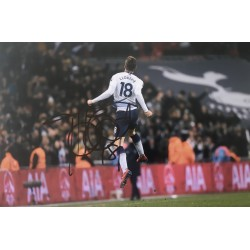 Fernando Llorente signed 12x8 Tottenham photo image C