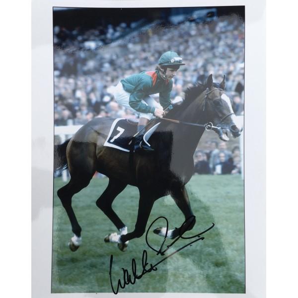 Walter Swinburn signed 10x8 colour portrait photo