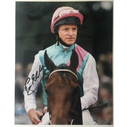 Pat Eddery signed 10x8 colour photo