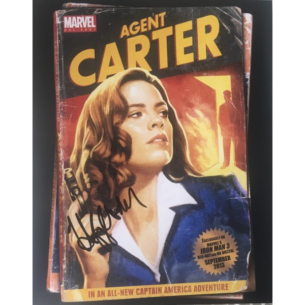Hayley Atwell signed photograph - Agent Carter