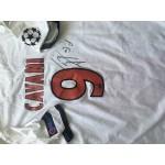 Edison Cavani signed PSG Authentic shirt (player issued minimum)