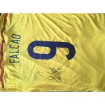 Falcao signed Columbia shirt