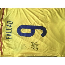 Falcao signed Columbia shirt