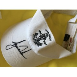 Tiger Woods signed 10x8 St Andrews visor IN PERSON ST ANDREWS