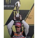 Andrea Dovizioso signed 10x8 photo C