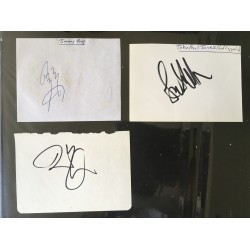 Led Zeppelin- 3 signatures from one of the greatest rock bands ever