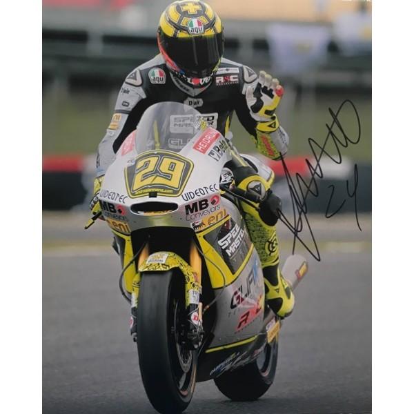 Andrea Iannone signed photo B