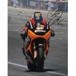Colin Edwards signed 10x8 photo