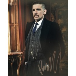 Paul Anderson Peaky Blinders signed 10x8 colour photo Image 2