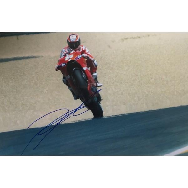 Nicky Hayden signed 10x8 photo B