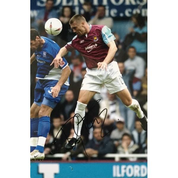Tomas Repka signed 12x8 colour West Ham photo Image C
