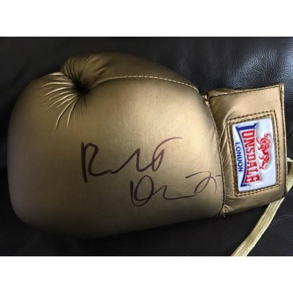 Robert de Niro signed boxing glove