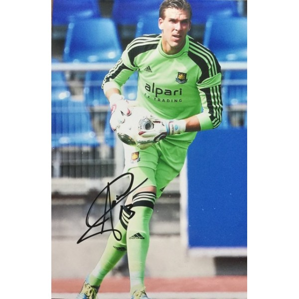 Adrian signed 12x8 West Ham colour photo