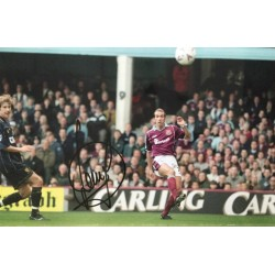 Paolo Di Canio  signed 12x8 colour photo