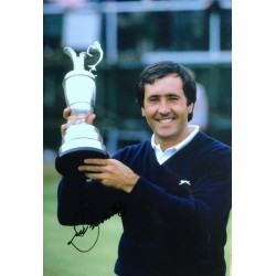 Seve Ballesteros signed 12x8 colour photo