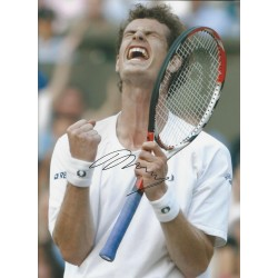 Andy Murray signed 16x12 photo