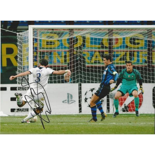 Gareth Bale signed 16x12 colour photo