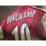 Dennis Bergkamp signed 12x8 colour photograph Image B