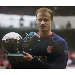Dennis Bergkamp signed 12x8 colour photograph Image C