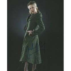 Helen McRory signed Harry Potter photo