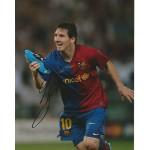 Lionel Messi signed 10x8 colour photo