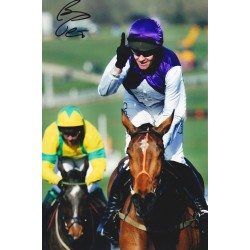 Barry Geraghty signed 12x8 colour photo