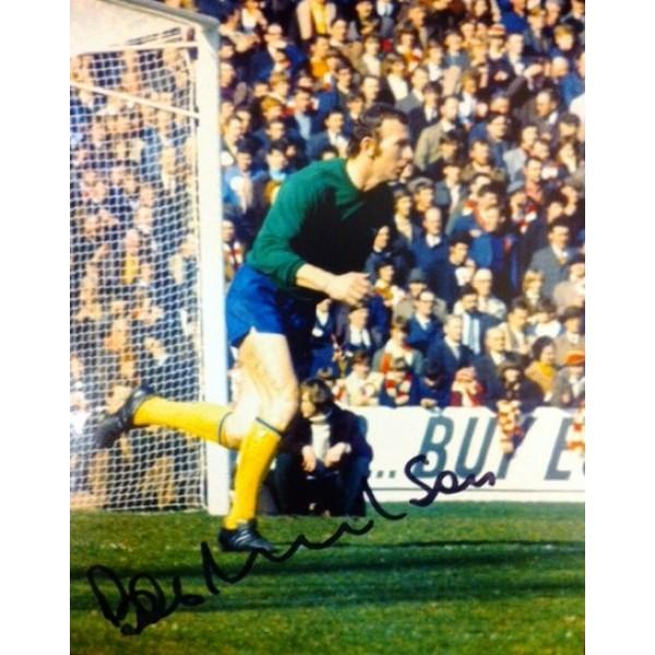 Bob Wilson ( Arsenal) signed 10x8 colour photo