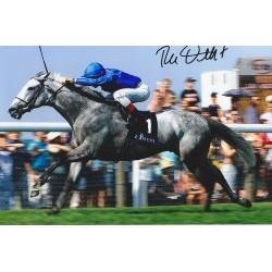 Frankie Dettori signed 12x8 colour photo