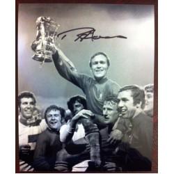 Ron Harris Image B signed 10x8 photo