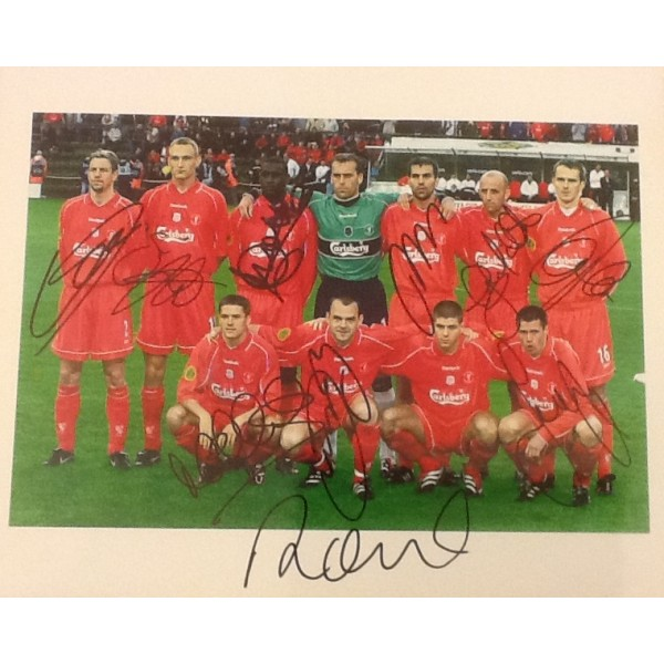 Liverpool signed team group