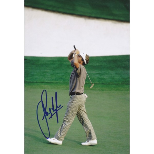 Sandy Lyle signed 12x8 photo