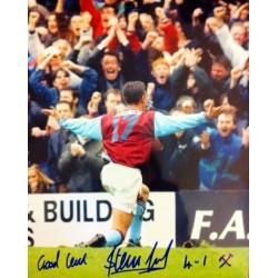 Steve Jones signed 10x8 colour photo