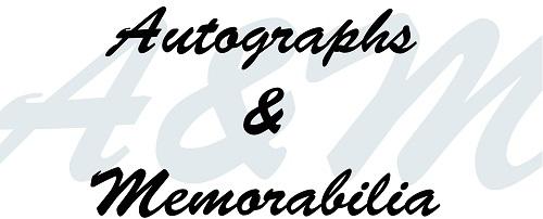 Autographs and Memorabilia
